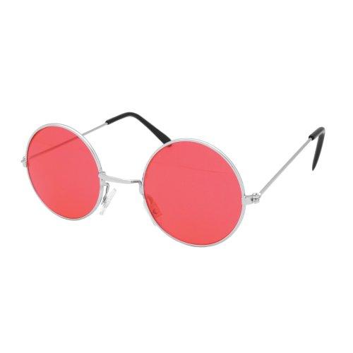 a92cd57b13 Red Round Lennon Sunglasses - Glasses Fancy Dress 60s 70s Hippy Hippie John  - glasses lennon fancy dress round 60s 70s hippy hippie john ozzy red on  OnBuy
