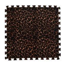 Joint Mat Interlocking Foam Mats EVA Foam Floor Mats (9 Tiles) Leopard Grain