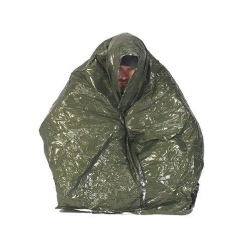 NDUR NDUR 61420 Emergency Survival Blanket, 48 in. x84 in. , OD Green