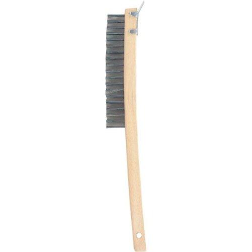 Gam Paint Brushes Bent Handle Wire Scraper Brush With Beveled Scraper  BW01319