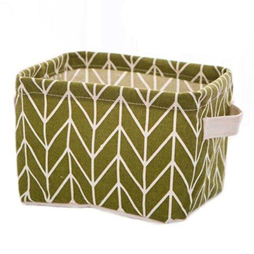Desktop Organizer Bag Storage Box Folding Storage Basket #06