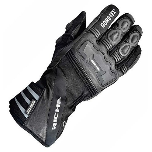 Richa Cold Protect Black Gore-Tex Motorcycle Gloves