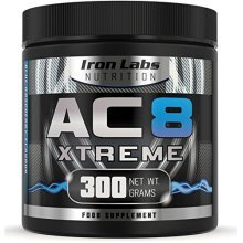 AC8 Xtreme | Blue Raspberry | Pre Workout Supplement | Energy & Muscle | 300g