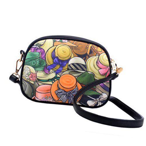 Girls Leisure Lovely Purse Bag Single Shoulder Strap Bag Girlfriend Kid Birthday Gift,Hat style
