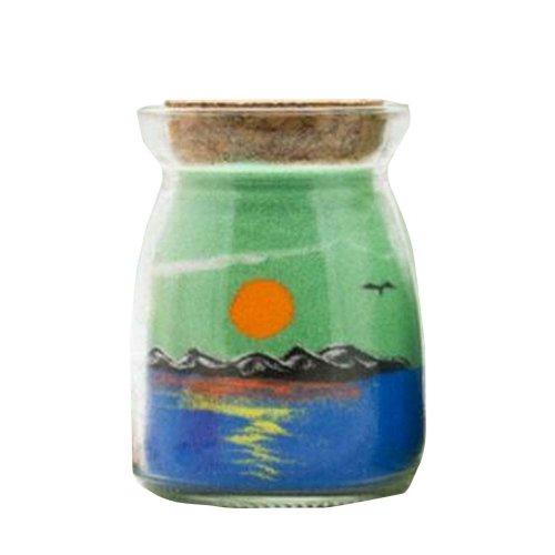 Beautiful Handmade Bottle of Sand Scenery Sand Art
