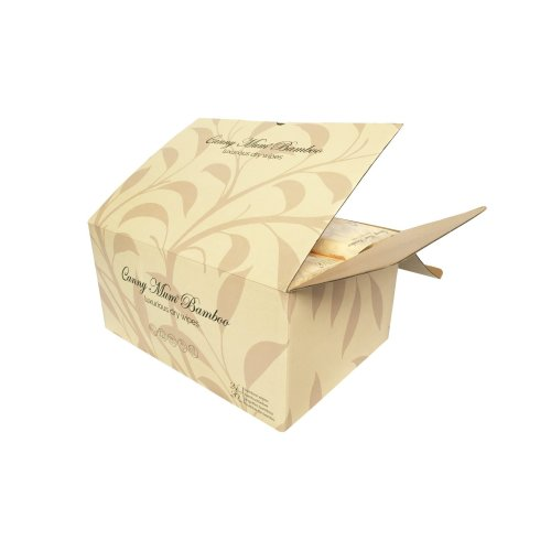 CannyMum Bamboo Wipes. 24 pack x 20 wipes (480 wipes). Biodegradable
