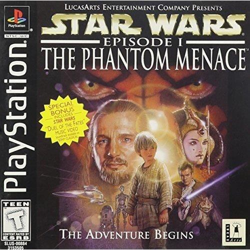 Playstation - Star Wars Episode I: The Phantom Menace (PS)