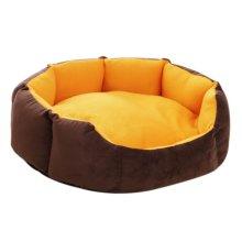Octagonal Detachable Small And Medium Sized Pet Kennel, Orange