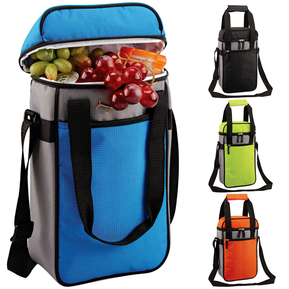 Large Insulated Wine Bottle Cooler Bag