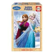 Wooden Puzzle - Disney Frozen