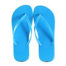 Unisex Casual Flip-flops Beach Slippers Anti-Slip House Slipper Blue