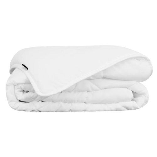 vidaXL Summer Duvet/Quilt 155x220 cm White