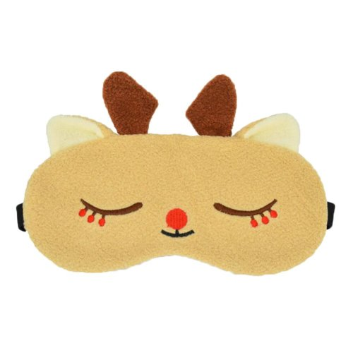 Cute Deer Design Eye Masks for Sleeping, Travel