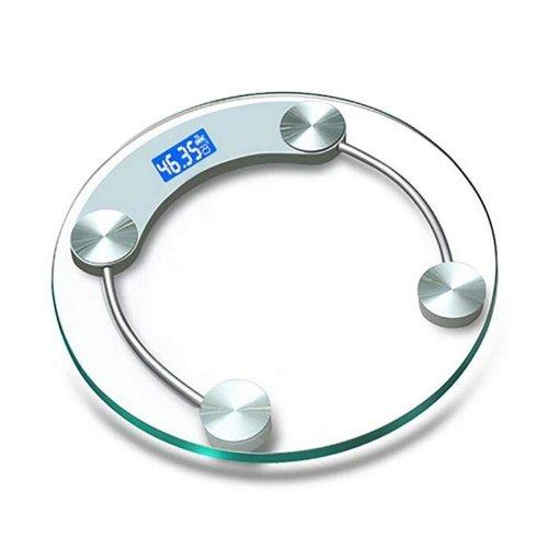 Bodytone Round Digital Scales Bathroom Weight Weighing Scales