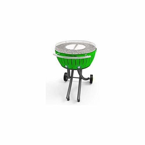 Lotusgrill XXL Charcoal Grill–Lime Green, 78x 78x 48cm