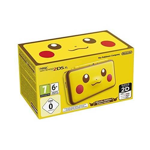 New Nintendo 2DS XL - Pikachu Edition (UK Version) (New)