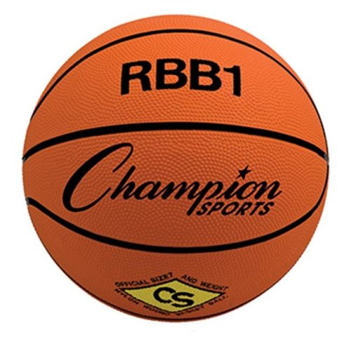 Champion Sports CHSRBB1 Champion Basketball Official Size No 7