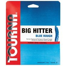 Tourna Big Hitter Blue Rough 17g Set Maximum Spin Polyester Tennis String