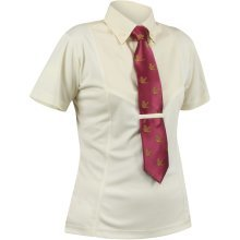 Shires Short Sleeve Tie Shirt - Ladies