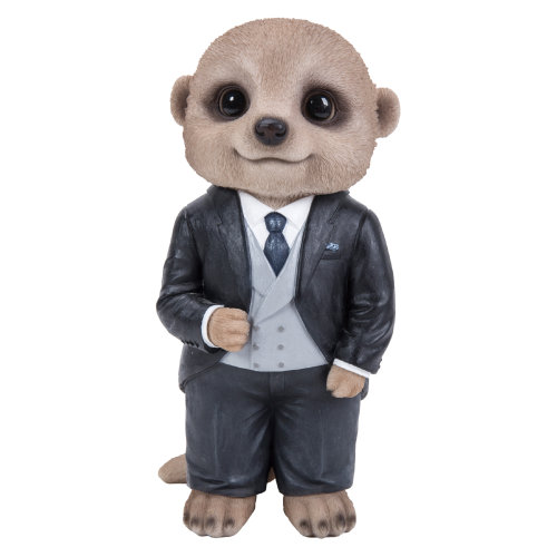 b3e87e1a2 Vivid Arts - Baby Meerkat - Groom - Wedding - Garden Ornament/Decoration/ Gift on OnBuy