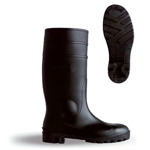 Dunlop BBSSB03 PVC Safety Black Wellington Boots Size 3