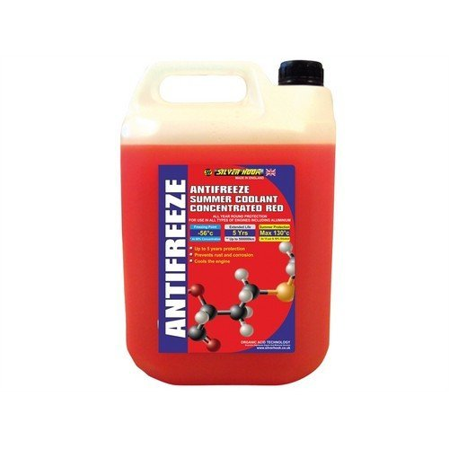 Silverhook SHAR4 Concentrated Red Antifreeze O.A.T. 4.5 Litre