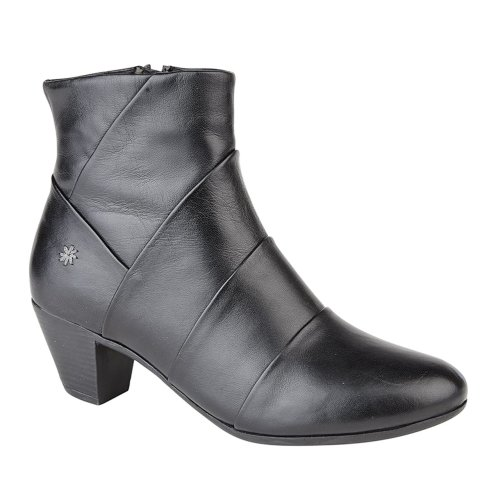 Cipriata Womens Mid Heel Ankle Boots Black
