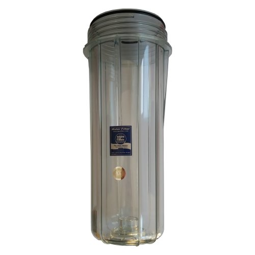 """10"""" High Quality Reusable Empty Clear Cartridge Transparent Water Filter Housing"""