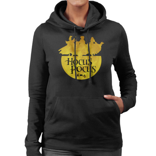 Hocus Pocus Dancing On A Couldron Women's Hooded Sweatshirt
