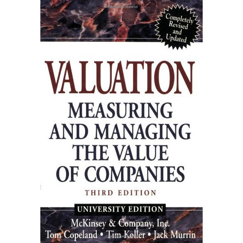 Valuation 3rd ed