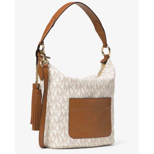 1d8e08608cc64d Michael Kors Elana Large East West Convertible Shoulder Bag - Vanilla -  30T6GE3L3B-150 on OnBuy