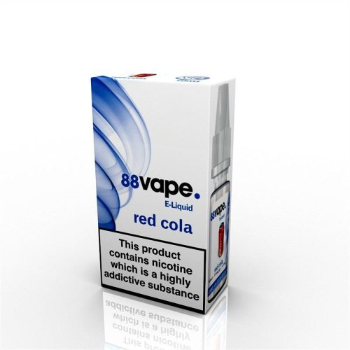 88 Vape E-Liquid Nicotine 16mg Red Cola 10ML