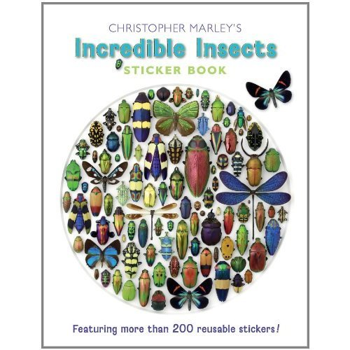 Christopher Marley's Incredible Insects Sticker Book Bs004