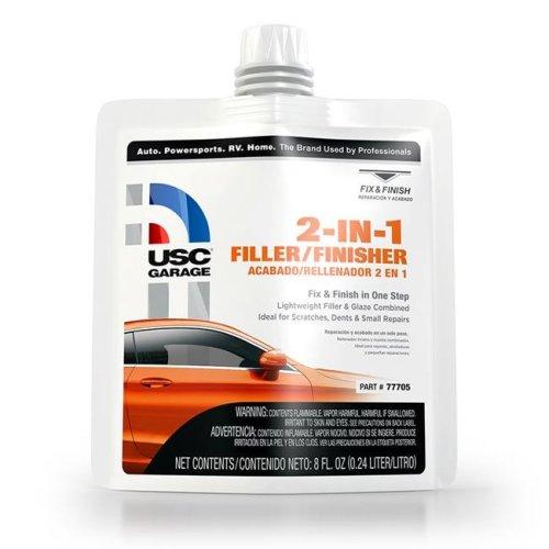 U. S. Chemical & Plastics USC-77705 2 in. 1 Filler & Finisher