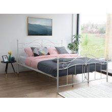 Metal Bed - Super King Size Bed Frame - ANTLIA