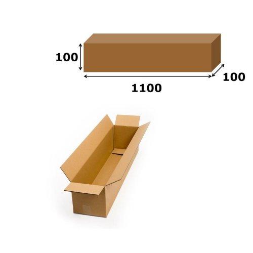 5x Postal Cardboard Box Long Mailing Shipping Carton 1100x100x100mm Brown