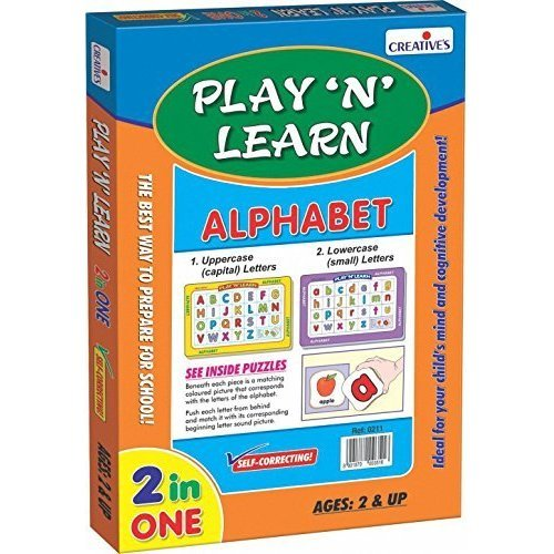 Creative Educational - 2in1-alphabet-upper& Lowercase - 2in1 Cre0339 -  creative educational 2in1 lowercase cre0339 alphabetupper game