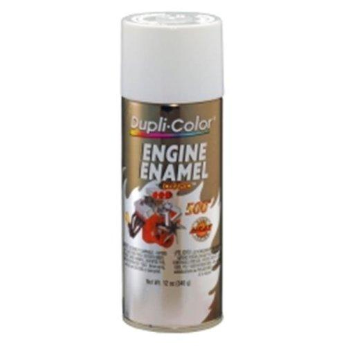 Krylon DE1602 12 oz Engine Enamel Paint, Universal White