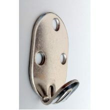 Heavy Duty 3 Hole Picture and Mirror Hooks - Nickel Finish - 2 Pack