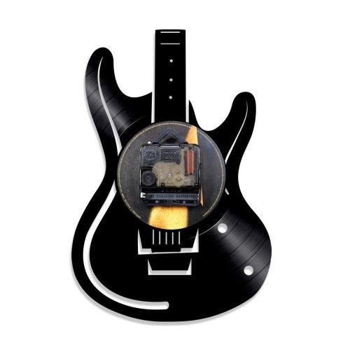 Decorative LED Vinyl Guitar Wall Clock | Guitar Vinyl Clock