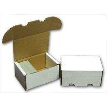 7445af861ff One (1) Storage Box - BCW 550 Count - Corrugated Cardboard Storage Box -  Baseball