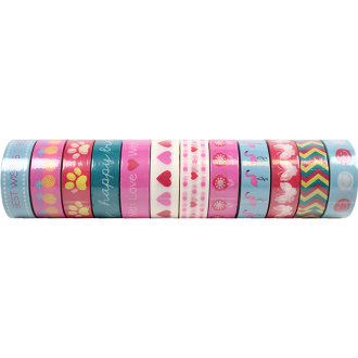 Dovecraft Washi Tape 96/Box-Everyday, Msrp $2.99 Per Roll