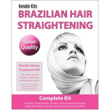 Brazilian Keratin Treatment - Home Hair Straightening Kit 100ml (COMPLETE KIT)