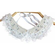 Detachable Shirt False Collar Necklace Beautiful Shirt Decoration