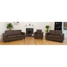 Tanya Tub Sofa 2 Seater Pvc Faux Leather