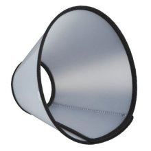 Trixie Protective Collar With Hook And Loop Fastener, Large -
