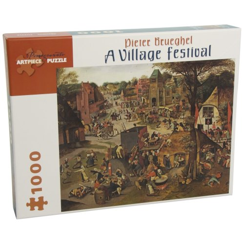 A Village Festival: 1,000 Piece Puzzle (Pomegranate Artpiece Puzzle)
