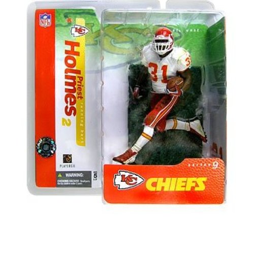d2330537b76 Priest Holmes 2nd Edition Kansas City Chiefs White Jersey Variant Alternate  Chase McFarlane NFL Series 9 Action Figure on OnBuy