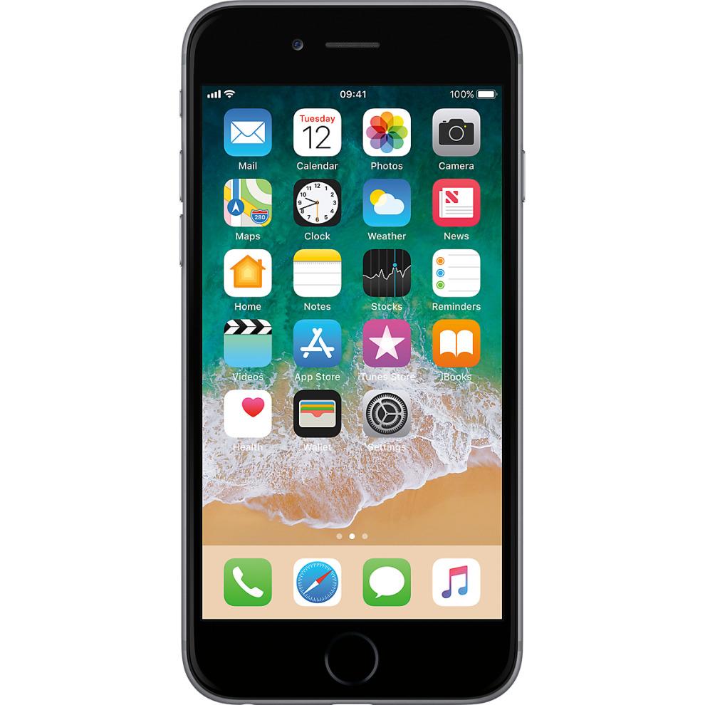 O2, 64GB Apple iPhone 6 - Space Grey