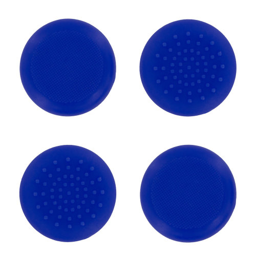 Assecure TPU protective analogue thumb grip stick caps for Microsoft Xbox One- 4 pack blue